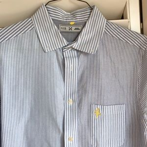 FIVE FOUR x MARC MCNAIRY striped button down